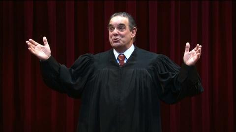 PBS NewsHour -- Bringing the theater of the Supreme Court to the stage