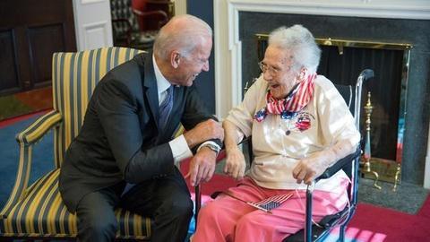 PBS NewsHour -- Oldest American woman veteran Lucy Coffey dies at 108