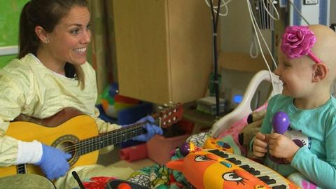 PBS NewsHour -- When music is medicine for kids coping with cancer