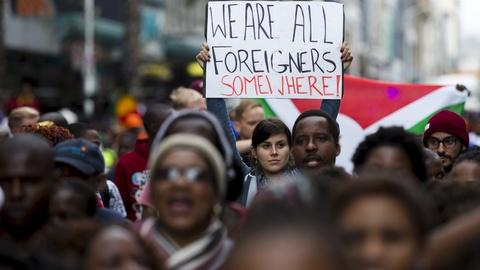 PBS NewsHour -- What's behind the xenophobic violence in South Africa?