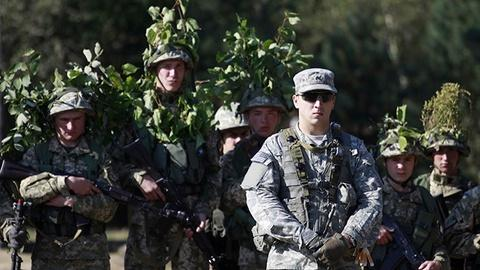 PBS NewsHour -- U.S. troops are in Ukraine and the Kremlin isn't happy