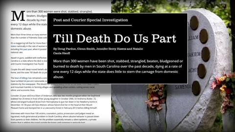 PBS NewsHour -- Pulitzer-winning reports shed light on S.C. domestic abuse