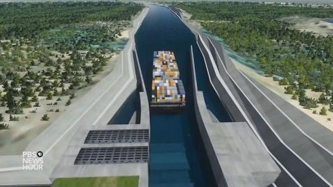 PBS NewsHour -- Mega canal project threatens to uproot Nicaragua's farmers
