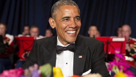 PBS NewsHour -- See Obama's zingers at the White House Correspondents Dinner