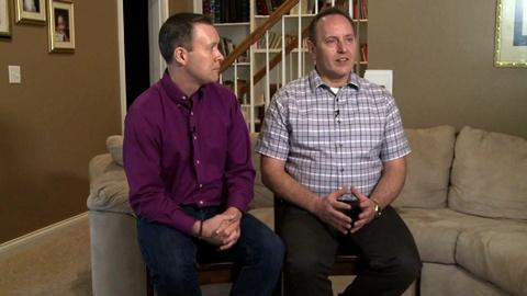 PBS NewsHour -- Two families, opposite views of the gay marriage legal fight