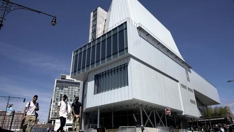 PBS NewsHour -- Whitney Museum opens more space for risk-taking artists