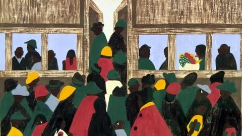PBS NewsHour -- Revisiting the Great Migration through paintings and poetry