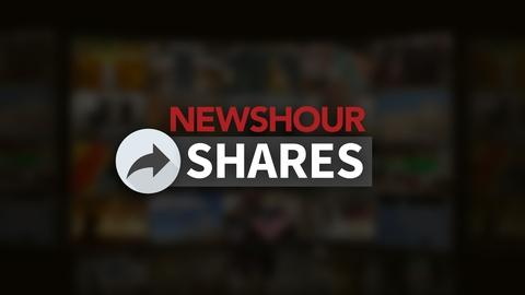 PBS NewsHour -- Fiery eruptions on Earth and in space caught on camera