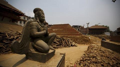 PBS NewsHour -- Destruction of Nepal temples puts spiritual culture at risk