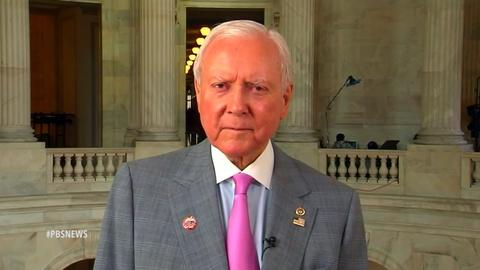 PBS NewsHour -- Hatch: Trade bill one of the most important in U.S. history