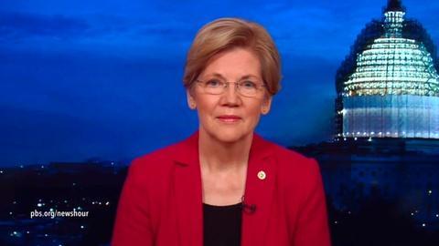 PBS NewsHour -- Sen. Warren: Obama should make trade deal details public
