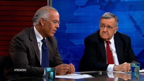 PBS NewsHour -- Shields and Brooks on the Senate's trade battle
