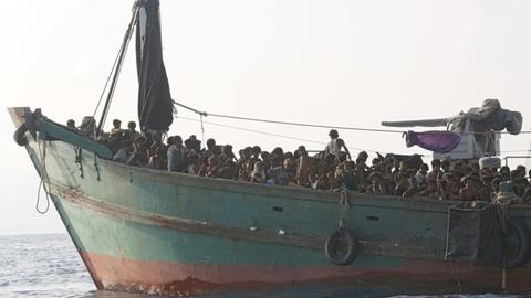 PBS NewsHour -- Rohingya refugees stranded in 'maritime ping pong'