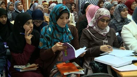 PBS NewsHour -- Morocco trains female spiritual guides to fight extremism