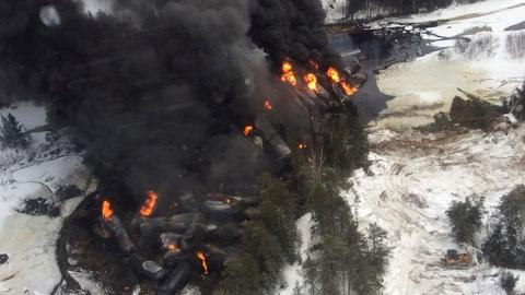PBS NewsHour -- New federal rules aim to tackle the safety of oil trains