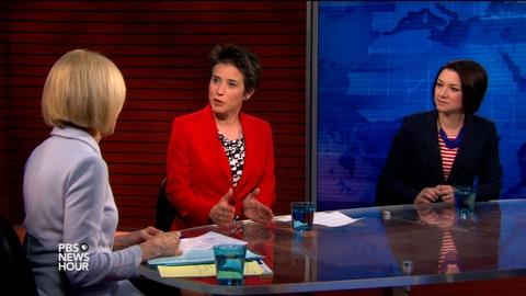 PBS NewsHour -- Will hawkish Republican candidates resonate with voters?