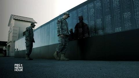 PBS NewsHour -- How one veteran pays tribute to troops killed in Afghanistan