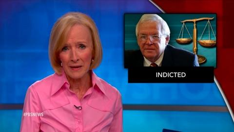 PBS NewsHour -- News Wrap: Hastert reportedly paid to hide sexual misconduct
