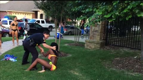 PBS NewsHour -- Texas community questions police use of force at pool party