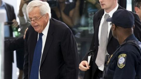 PBS NewsHour -- Hastert pleads not guilty to fraud charges