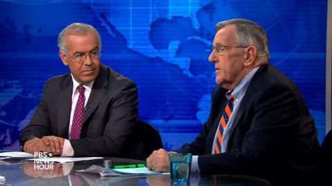 PBS NewsHour -- Shields and Brooks on Obama trade bill defeat