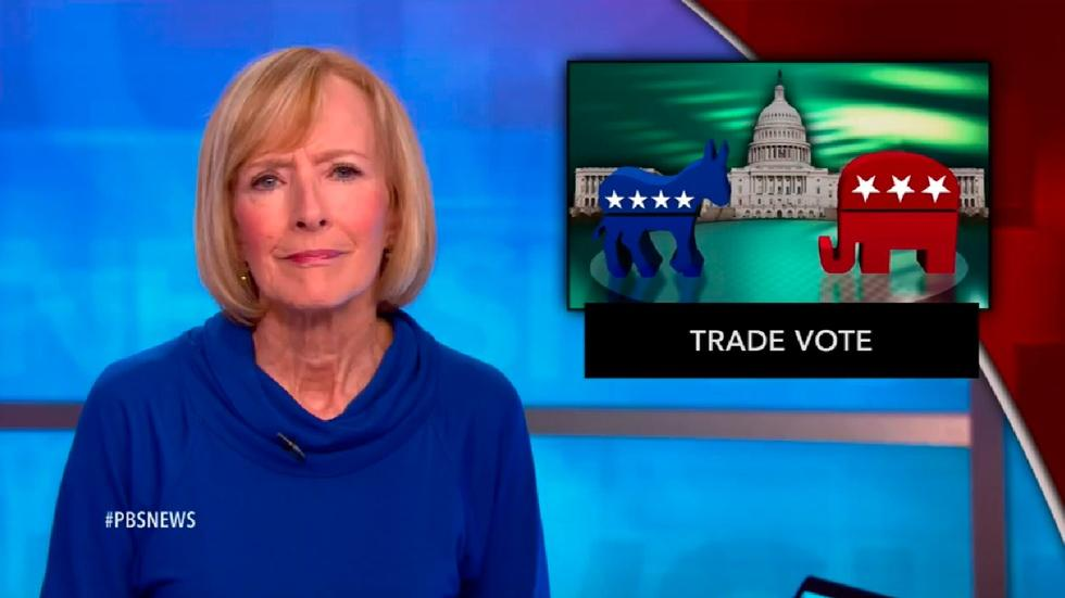 News Wrap: 'Fast-track' trade bill passes House image