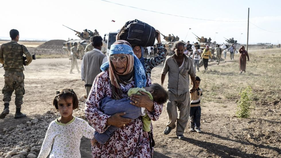 UN report: Global refugee crisis has hit all-time high image