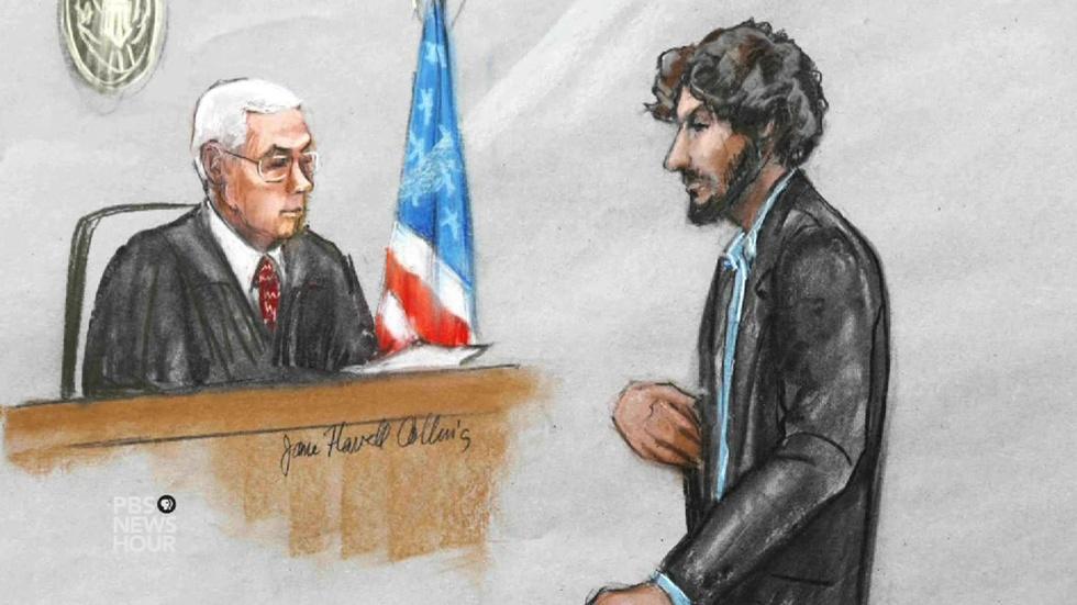Boston bombing survivors react to Tsarnaev's apology image