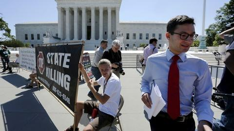 PBS NewsHour -- Supreme Court ends term with EPA, death penalty rulings