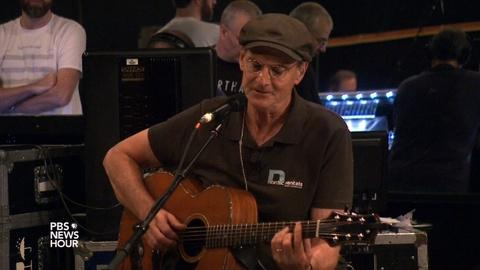 PBS NewsHour -- Why James Taylor is still 'endlessly interested' in music