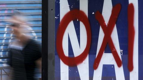PBS NewsHour -- Yes or no on bailout referendum, how should Greece vote?