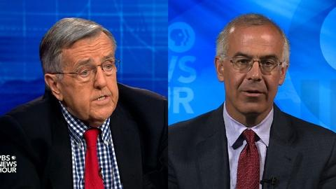 PBS NewsHour -- Shields and Brooks on Supreme Court lessons