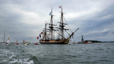 PBS NewsHour -- A ship that changed American history sails once more