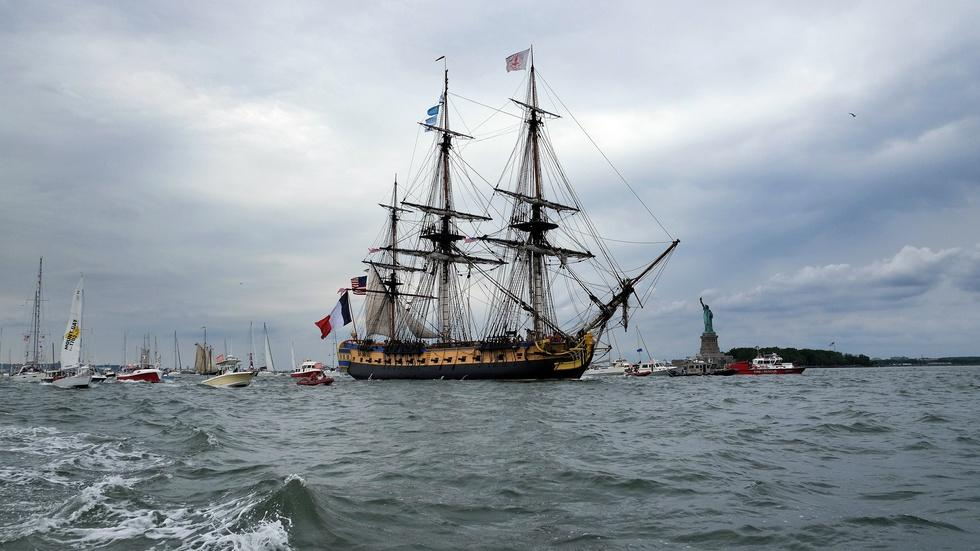 A ship that changed American history sails once more image