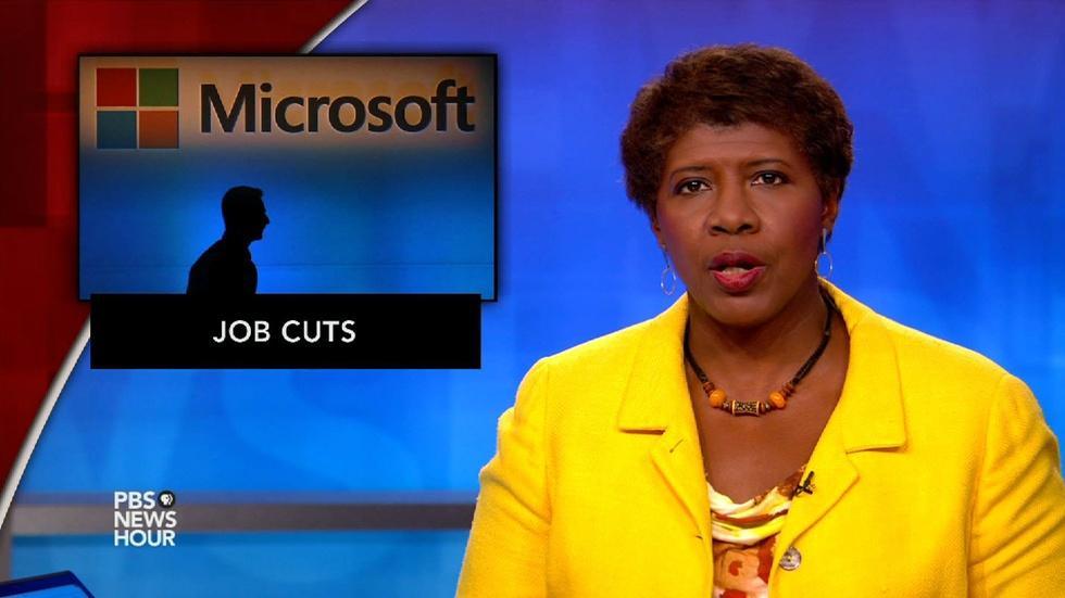 News Wrap: Microsoft cuts 7,800 jobs struggling phone sector image