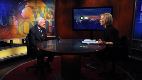 PBS NewsHour -- Former President Jimmy Carter shares his full, lucky life