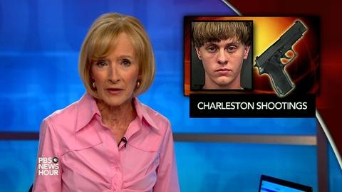 PBS NewsHour -- News Wrap: Dylann Roof gun background check missed arrest