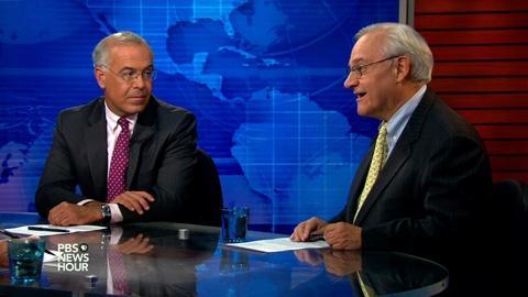 PBS NewsHour -- Brooks and Dionne on Trump's anti-immigrant talk