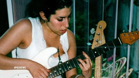 PBS NewsHour -- 'Amy,' a portrait of a rare artist and a tragic downfall