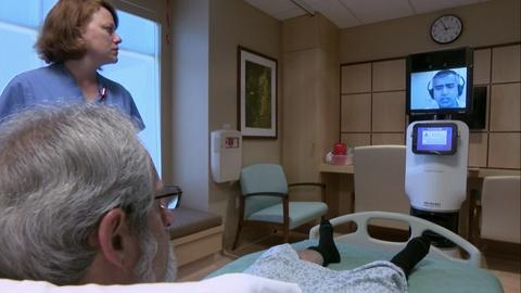 PBS NewsHour -- Telemedicine puts a doctor virtually at your bedside