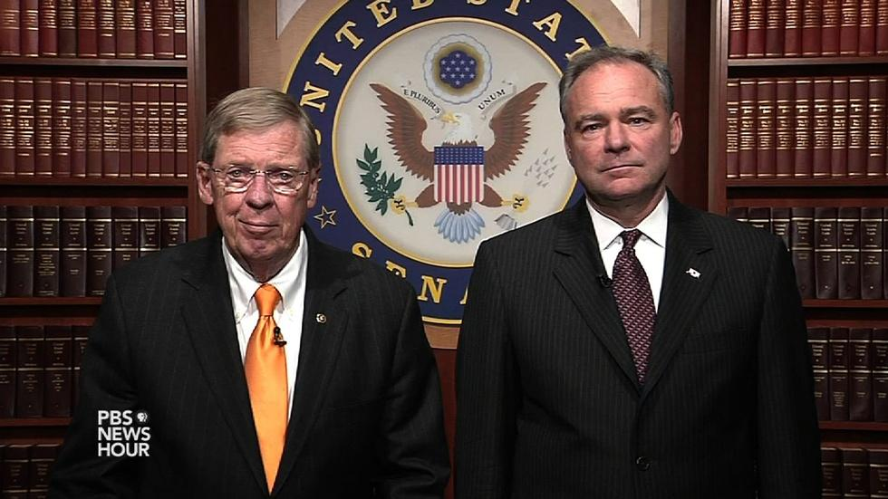 Senators discuss Iran deal first impressions, concerns image
