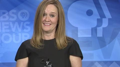 PBS NewsHour -- Samantha Bee's typical family movies? 'Kill Bill' and 'Jaws'