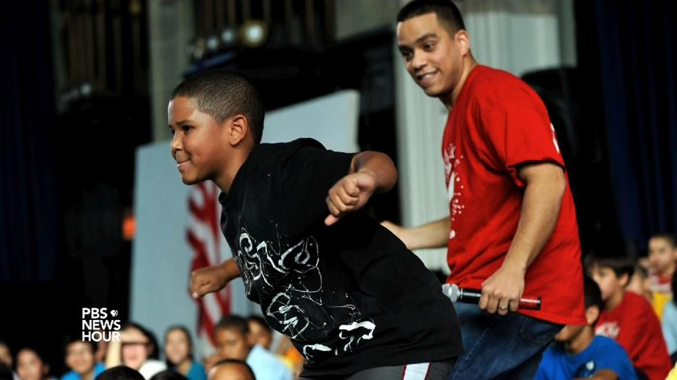 Free dance lessons teach NYC students to think on their feet image