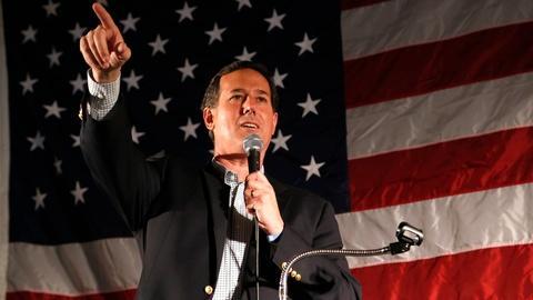PBS NewsHour -- Rick Santorum on Iran's nuclear path, immigration economics