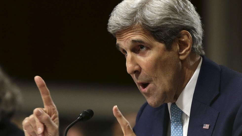 Kerry defends Iran nuclear deal to lawmakers image
