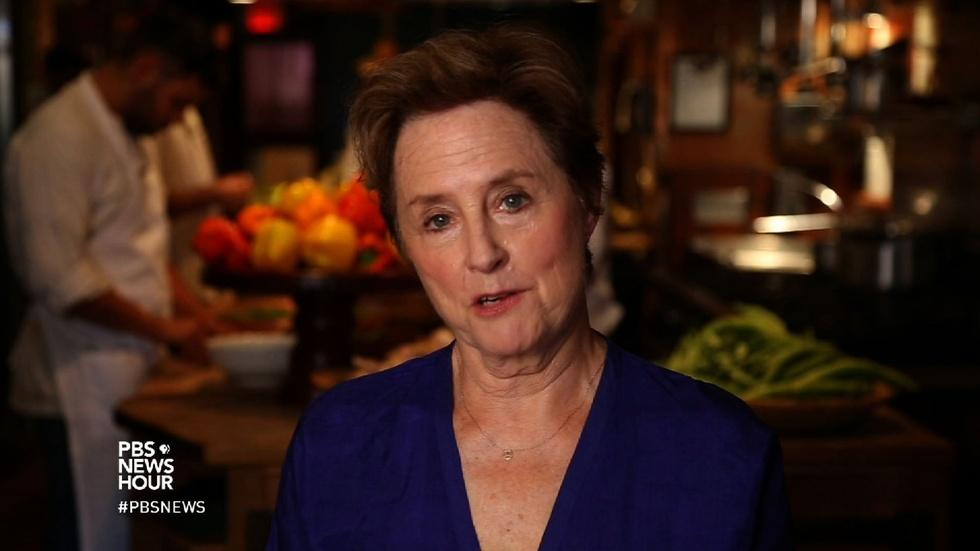 Alice Waters teaches slow food values in a fast food world image
