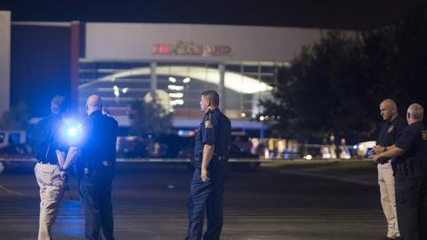 PBS NewsHour -- Shooting at movie theater kills two, injures nine