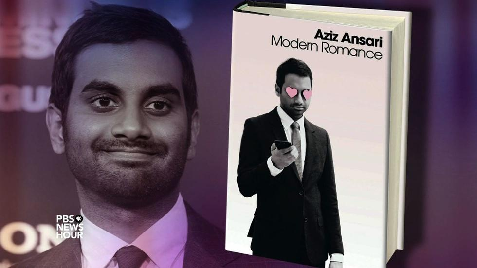 Aziz Ansari wants to help you find a mate. Seriously. image