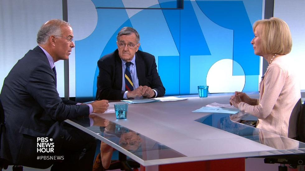 Shields and Brooks on guns, Iran, Clinton's emails image