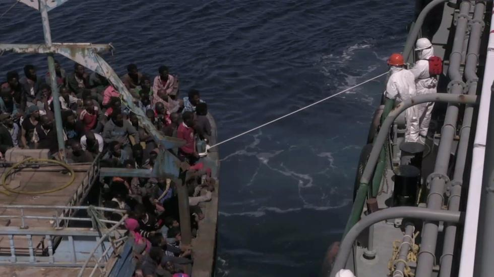 How Mediterranean fisherman are helping African migrants image